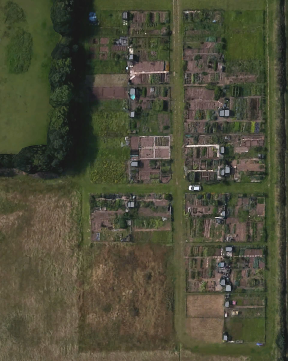 frodsham townfield allotments map